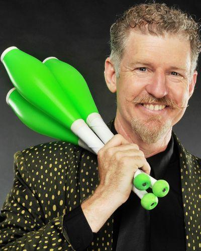 comedy juggler show