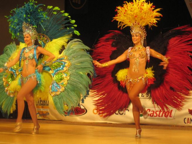 Brazilian style samba dancers for hire