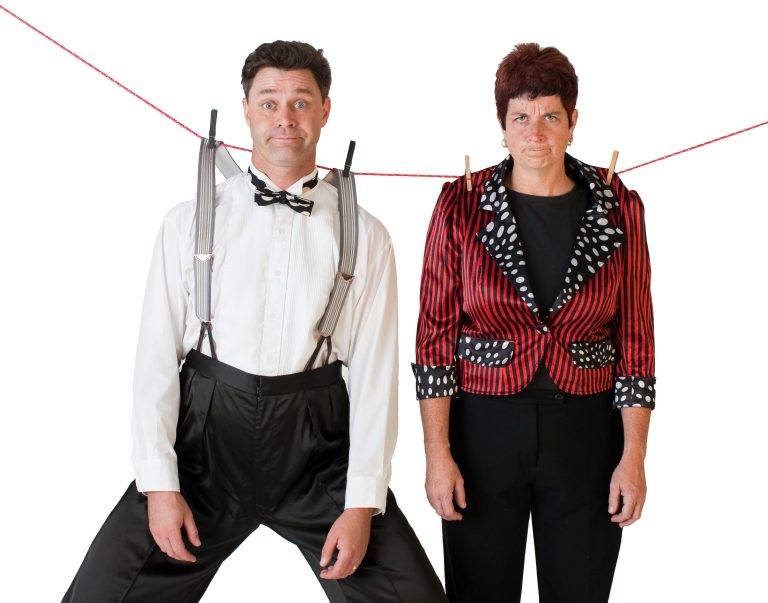 Two person comedy Juggling